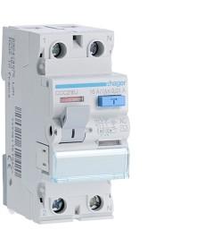 Wyłącznik różnicowo-prądowy 2p 16a/10ma typ ac hager ccc216j