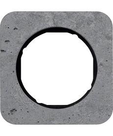 R.1 Ramka 1-krotna, beton/czarny
