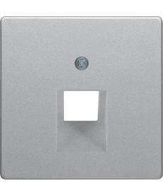 Q.x Pł tka czołowa do gniazda prz łączeniowego UAE 1-kr komputerowego i telefoni