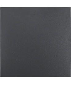KLAWISZ 1X KWADRAT/B1/B3/B7GLAS ANTRACYT BERKER 16201606