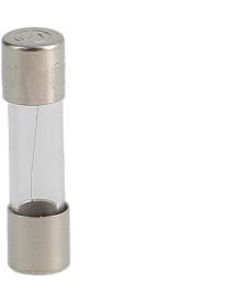 Bezpiecznik szklany 5x20mm, F, 250V 0,125A