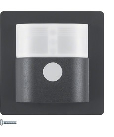 KNX RF nasadka czujnika ruchu komfort 2,2 m quicklink, antracyt, Berker Q.1/Q.3