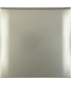 Ramka 1-krotna z pokrywą stal szlachetna, lakierowany Integro Flow/Pure