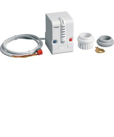 Elektrozawór z termostatem Tebis TX/KNX