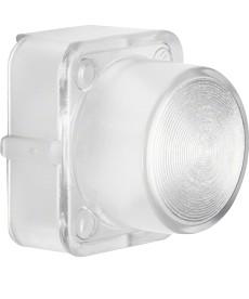 Klosz do sygnalizatora świetlnego E10; jasny przezroczysty; Serie 1930/Glas