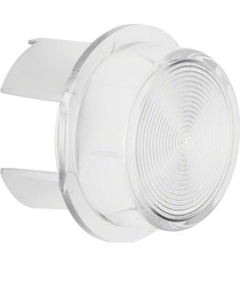 Klosz do sygnalizatora świetlnego E10; przezroczysty przezroczysty; Dodatki