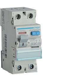RCCB Wyłącznik różnicowoprądowy 2P 40A/300mA Typ A