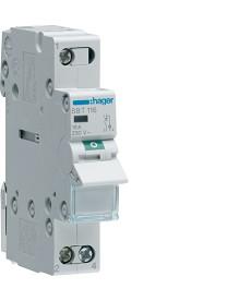 Rozłącznik izol. z lampką sygnal. 1P 16A