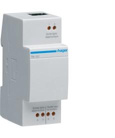 Modułowy filtr/rozdzielacz sygnału ADSL