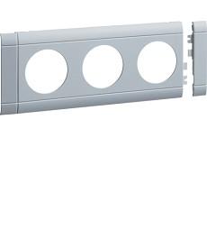 Maskownica 3-krotna ABS bezhalogenow lakier alu