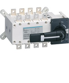Przełącznik zasilania I-0-II 4P 160A HAGER HI452