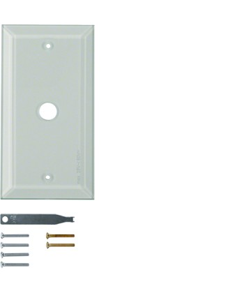 Szklana płytka wierzchnia 1-krotna; przezroczysty; System TS