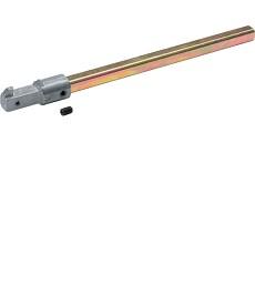 Wałek przedłużający l320mm do napędu obrotowego, hager hzc102