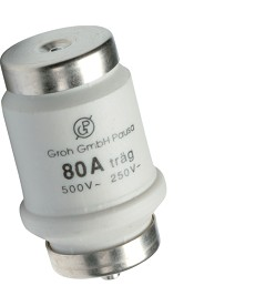 Bezpiecznik D 34x56mm DTIV zwłoczny 80A