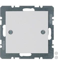Zaślepka z elementem centralnym i mocowaniem na śruby; biały; S.1/B.3/B.7