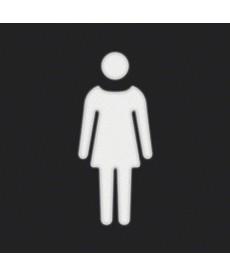 W.1 Folia do sygnalizatora świetlnego symbol kobieta