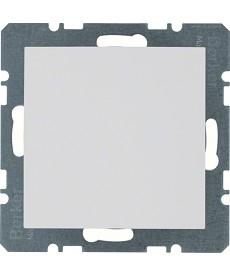 Zaślepka z elementem centralnym; biały; S.1/B.3/B.7
