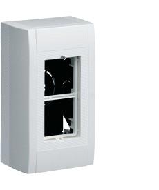 systo Puszka n/t 2M (1x2) 45x45mm, biała