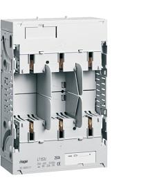 Podstawa bezpiecznikowa,NH1,3x250A montaż na szynach 40mm