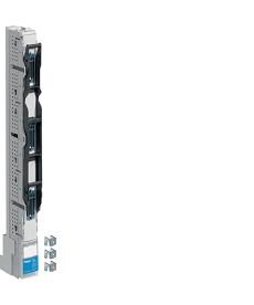 NH00 Rozłącznik listwowy hakowy, rozstaw 185mm, zacisk 95mm2 3 biegunowy