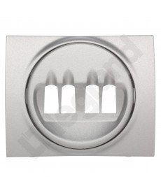 Sistena life plak.gn.podw.głośn.aluminium legrand 771325