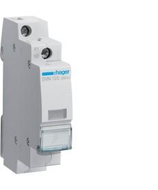 LAMPKA SYGNALIZACYJNA PRZEŹROCZYSTA 230V AC HAGER SVN125