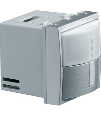 Czujnik ruchu do lamp żarowych, halogenowych; 500-1000W; Systo; 2 moduły; alu; 2