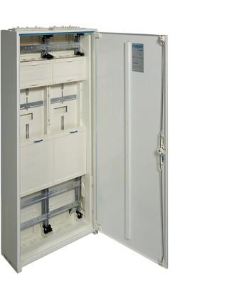 Rozdzielnica dla 4 liczników kWh,IP44,kl.izol. II,1250x550x205mm,96PLE,univers Z