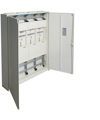 Rozdzielnica dla 8 liczników kWh,IP44,kl.izol. II,1250x1050x205mm,288PLE,univers