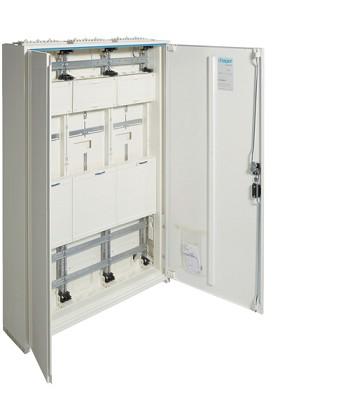 Rozdzielnica dla 6 liczników kWh,IP44,kl.izol. II,1250x800x205mm,288PLE,univers