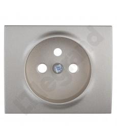Sistena life plakietka gniazda 2p+z tytan , legrand 771427