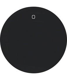 R.1/R.3 Klawisz z nadrukiem 0 czarny, połysk