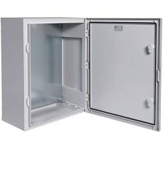 vector Obudowa wyposażona w płytę montażową, drzwi pełne 500x400x210mm