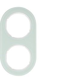 R.classic Ramka 2-krotna, szkło, biały