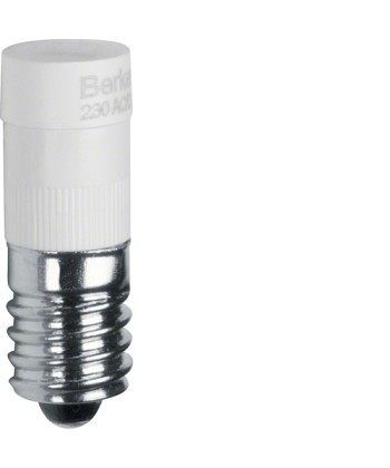 Żarówka LED E10; biały; dodatki