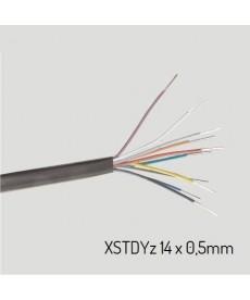 XSTDYZ 14X0,5 Przewód XSTDYz żelowany 14x0,5 mm (krążek 100m)