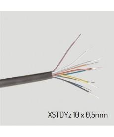 XSTDYZ 10X0,5 Przewód XSTDYz żelowany 10x0,5 mm (krążek 100m)