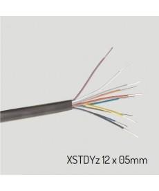 XSTDYZ 12X0,5 Przewód XSTDYz żelowany 12x0,5 mm (krążek 100m)
