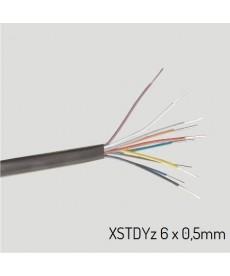XSTDYZ 6X0,5 Przewód XSTDYz żelowany 6x0,5 mm (krążek 100m)