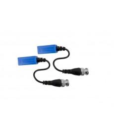 AT0016 Transmiter do kamer HD-TV wtyk BNC na kablu, złącze samozaciskowe 2 szt. - AT0016