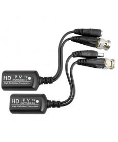 AT0018 Transmiter do kamer HD-TV wtyk BNC i zasilania na kablu, złącze RJ45 2 szt.