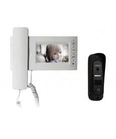 MC-430CM Wideodomofon 4,3&quot głośnomówiący z pamięcią i kamerą Pin-hole