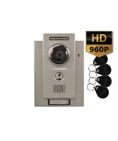 DRC-4CHCHD/RFID Kamera natynkowa z regulacją optyki i czytnikiem RFID, optyka HD 960p
