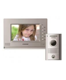 CDV-70AR3/DRC-40KR2 Wideodomofon głośnomówiący 7&quot z kamerą natynkową