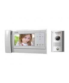 CDV-70KPT WHITE/DRC-40KPT Wideodomofon 7&quot słuchawkowy z kamerą natynkową
