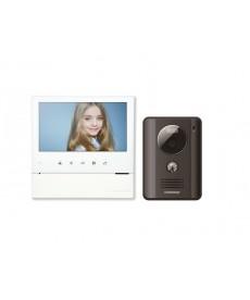 CDV-70H WHITE/DRC-4G DARK GREY Wideodomofon głośnomówiący 7&quot z kamerą natynkową