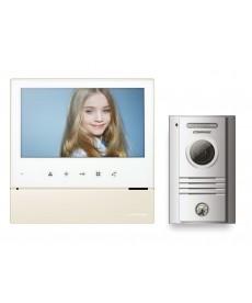 CDV-70H WHITE/DRC-40K Wideodomofon głośnomówiący 7&quot z kamerą natynkową