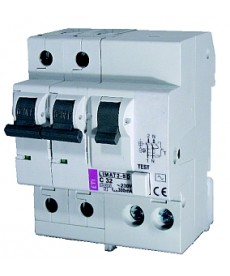 Wyłącznik różnicowoprądowy z członem na LIMAT-2-SD 2p A C32/0.1 ETI 002050216