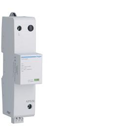 SPD Ogranicznik przepięć T1+T2, 1P, Iimp 25 kA, In 25 kA, Up ? 1,5 kV, styk FM