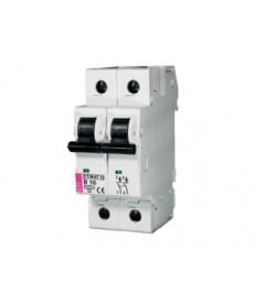 Wyłącznik nadprądowy ETIMAT 10 2p C6 ETI 002133712